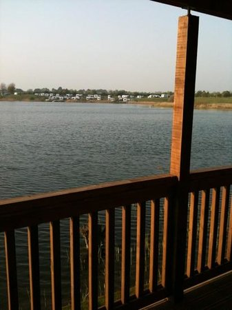 Dacre Lakeside Park: view from balcony
