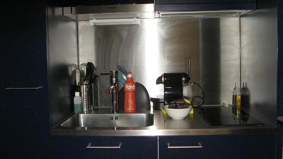 Allmend Apartments: cocina