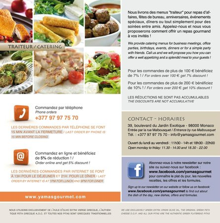 Yamas Greek Gourmet: Yamas information