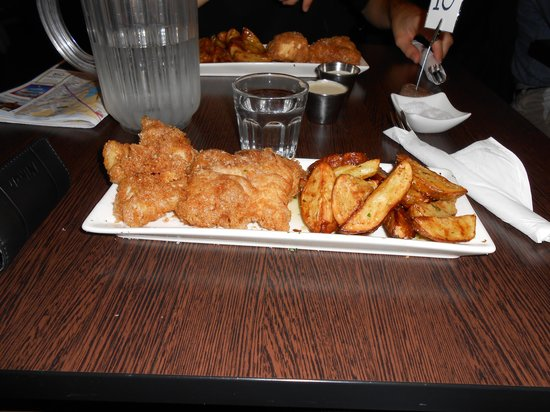 F and c picture of icelandic fish chips reykjavik for Icelandic fish and chips