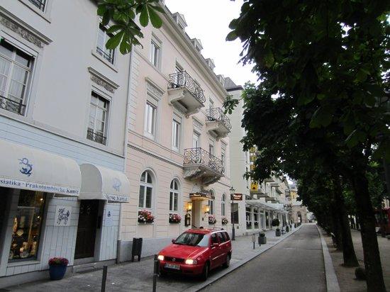 Hotel Roemerhof : Straßenansicht