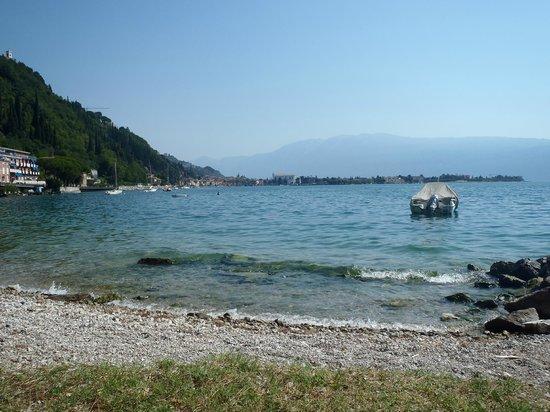 Hotel Villa Maria Au Lac: The beach