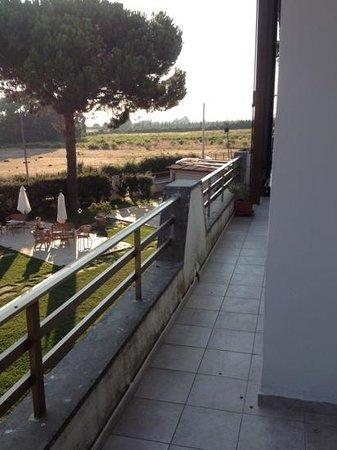 I Briganti di Capalbio: balcone privato Tiburzi