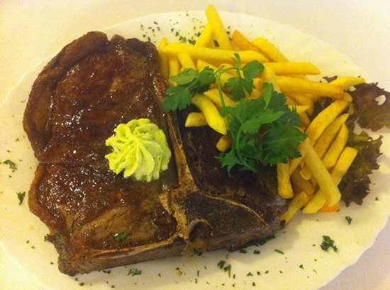 Restaurant Am Jahnplatz: T-Bone Steak