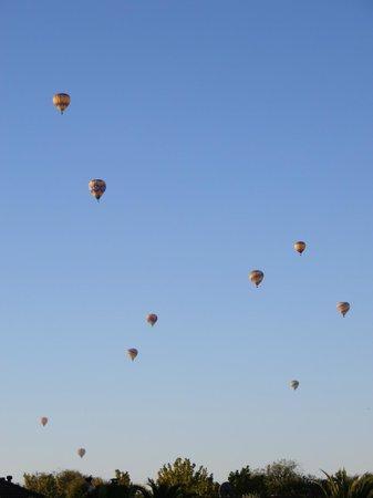 Napa Valley Railway Inn: beautiful skies