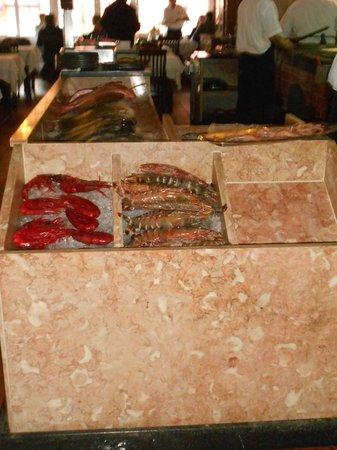 Mercado do Peixe : Balcão onde se escolhe o peixe