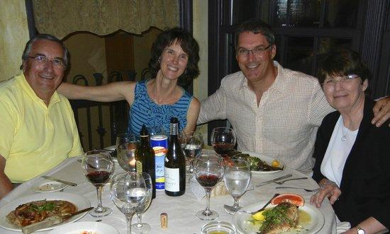 Via Ponte Pizzeria Trattoria: Wonderful memories of Via Ponte dinner.