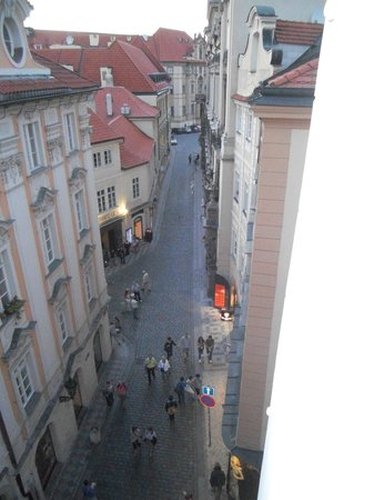 Pushkin Apartments: looking right from apt window