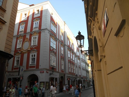 Pushkin Apartments : veiw of apartments from korlova