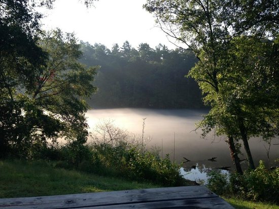 Catherine's Landing, an RVC Outdoor Destination: Morning fog on the lake... Beautiful!
