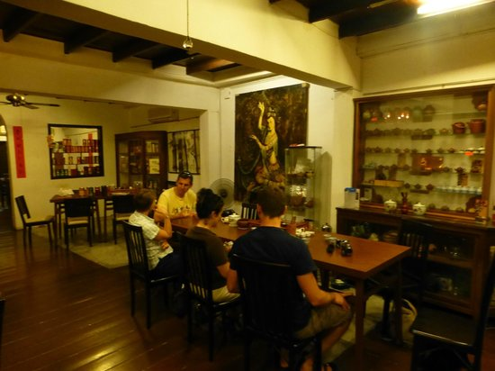 Zheng He Tea House: location