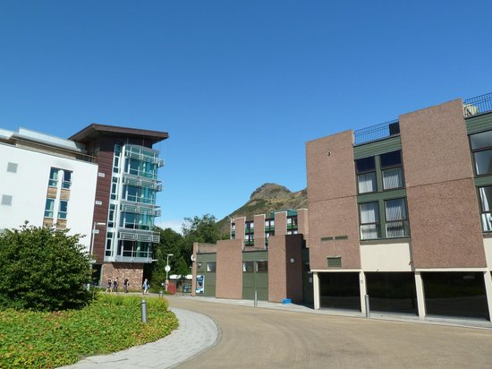 Pollock Halls - Edinburgh First: Campus View