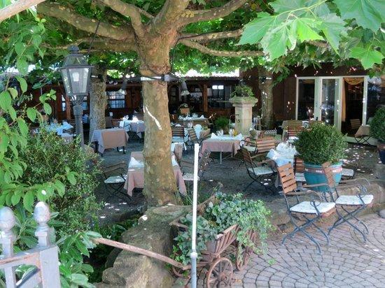 Restaurant Landhaus Liebefeld AG: Schöner Platanen-Garten