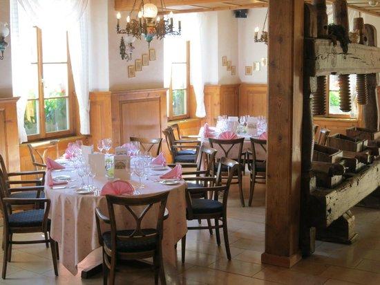 Landhaus Liebefeld: Gepflegtes Restaurant