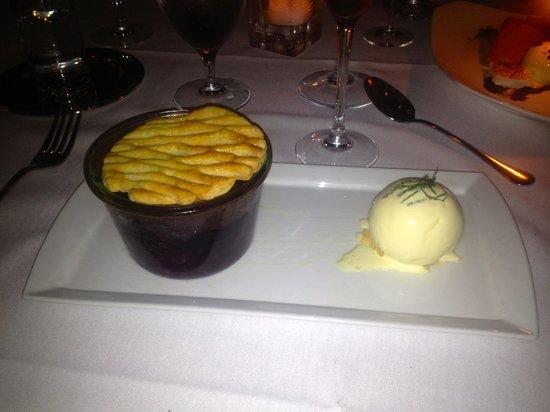 Terrapin Restaurant: Blueberry Pie