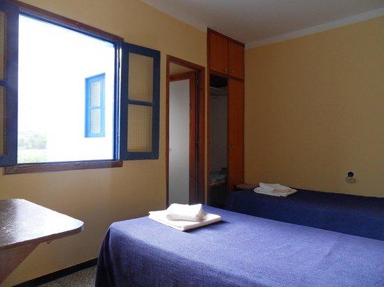 Casa Maria: Doppelzimmer mit Dusche u.WC, 140€/Woche für 2Pers
