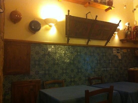 Cantina Siciliana : particolare interno