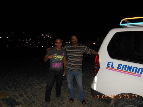 EgypteAbir: Notre chauffeur et accompagnateur