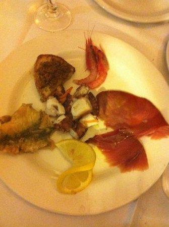 Cantina Siciliana : antipasto misto di pesce