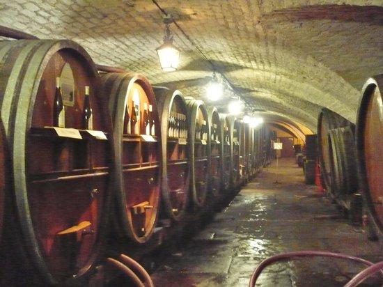 Cave historique des hospices civils de Strasbourg : Inside