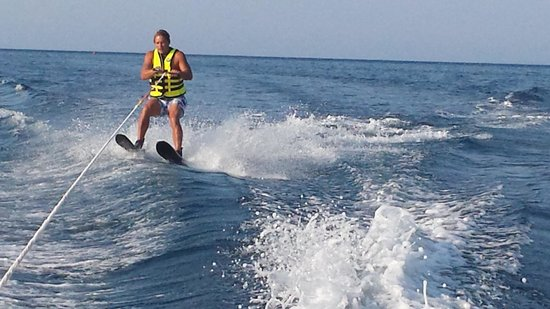 Zante Royal Resort : water sport fun! with the st nicolos beach sports club