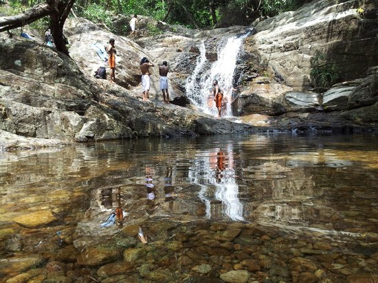 Agastya Mala: Another stream with waterfal