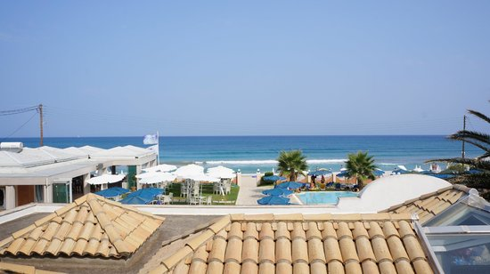Acharavi Beach Hotel: Вид из номера
