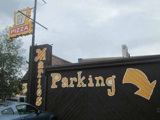 Mario's Pizza & Pasta: View from the street
