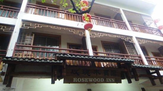 Rosewood Inn: fachada