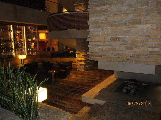 The Hyatt Lodge at McDonald's Campus: One of the many relaxing areas to sit and talk