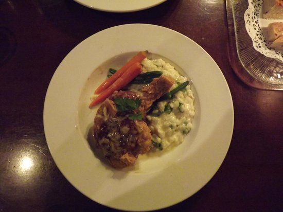 Plae Restaurant: My OVERLY SALTY duck confit & risotto