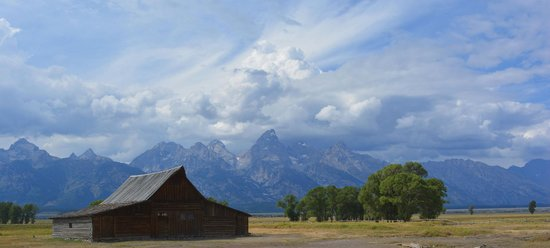 Antelope Flats and the famous barn