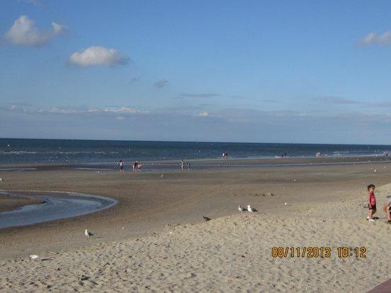 Le Transat Bleu: the beach