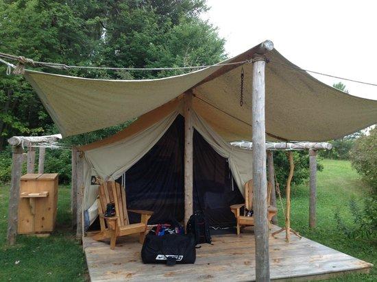 Oakwood Escape: Our Tent