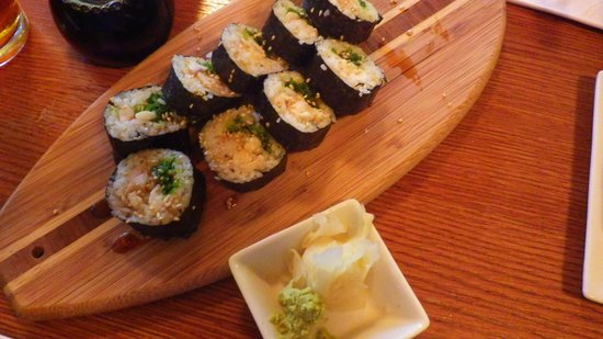 Sushi Rock and Trio : Chef's roll special of the day!