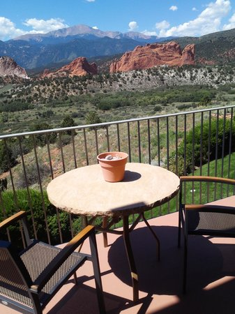 Garden of the Gods Club and Resort: View from room private deck