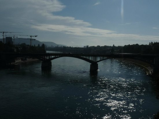 Hotel Spalentor Basel: View of the River Rhine in Basel