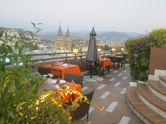 Rooftop Terrace Prepared For Dinner Picture Of Hotel