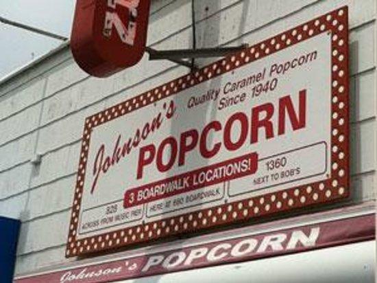 Johnson's Popcorn : 6th Street & Boardwalk