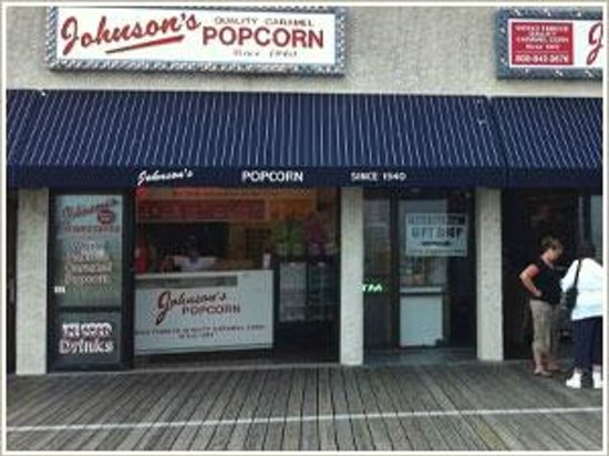 Photo of Restaurant Johnson's Popcorn at 1360 Boardwalk, Ocean City, NJ 08226, United States