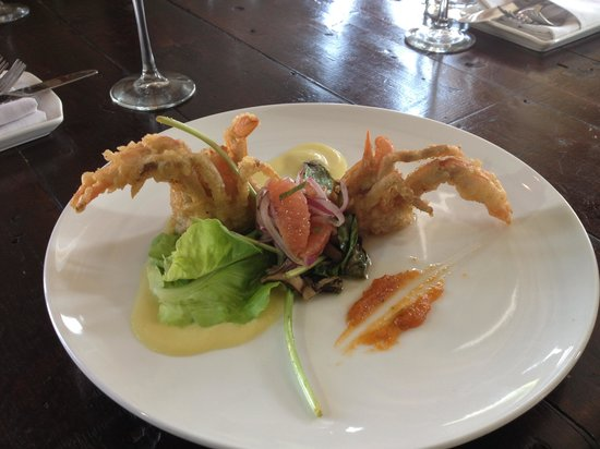 Fork & Wrench: Soft shell crab