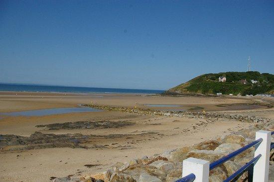 La Lande: beach at Cartaret