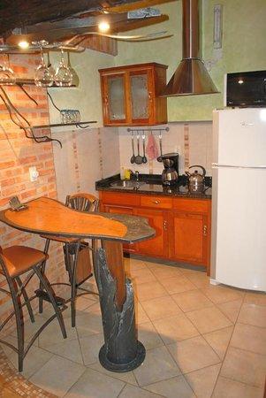 Aparthotel Lipa: the kitchen