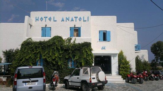 Anatoli Hotel : esterno dell'hotel