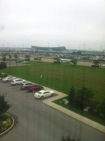 Fairfield Inn & Suites Buffalo Airport: airport across the street