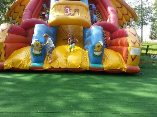 Parc Babyland : lots of non-mechanical fun to be had as well!