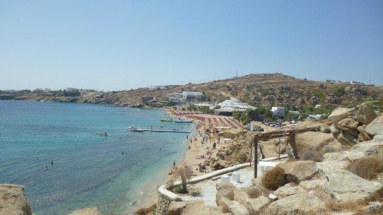 Paradise Beach Resort and Camping: Vista terrazza camera