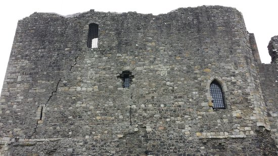Dundonald Castle: Back