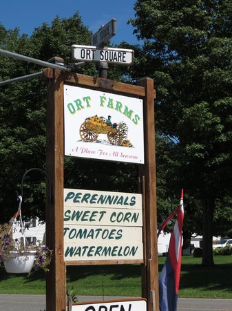 ‪‪Long Valley‬, نيو جيرسي: Orts Farm Sign‬