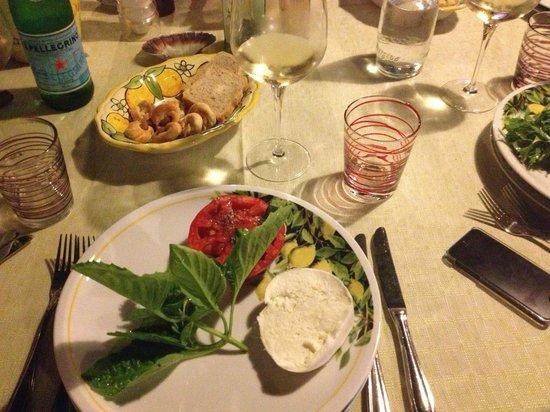 Da Paolino Lemon Trees : Burrata / Tomato